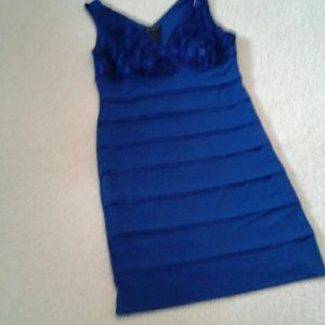 Blue party dress Size 10